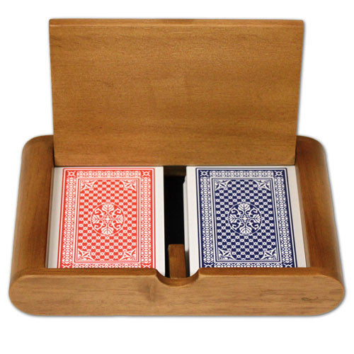 Brybelly GCOP-301.911 Copag R/B Wide Pinochle Regular Box Set from Brybelly