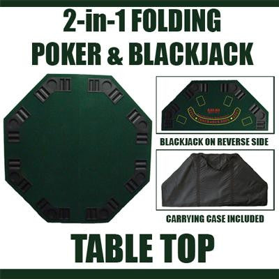 Brybelly GPTT-001 Green Octogan poker table top from Brybelly