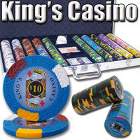 Brybelly PCS-0605 750 Ct - Pre-Packaged - Kings Casino 14 G - Aluminum from Brybelly