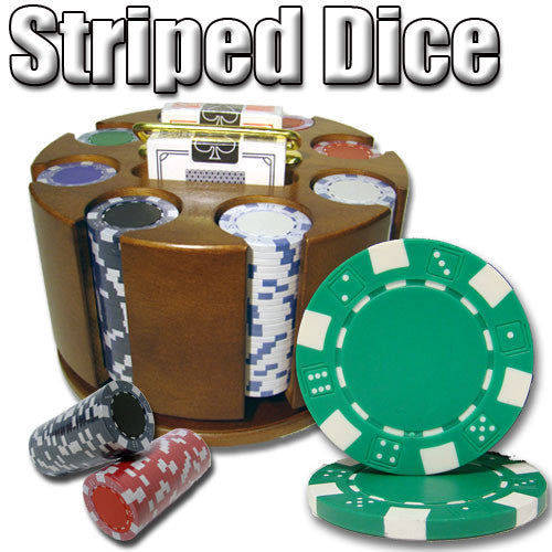 Brybelly PCS-1401 200 Ct - Pre-Packaged - Striped Dice 11.5 G - Carousel from Brybelly