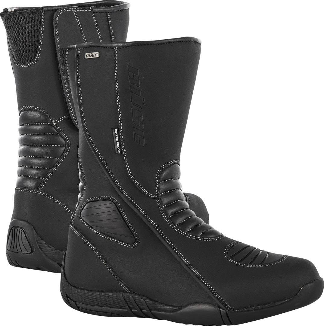 Büse EVO Ladies Motorcycle Boots, black, Size 39 for Women, black, Size 39 for Women from Büse