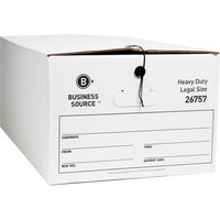 Business Source String/Button Medium Duty Storage Box from Business Source