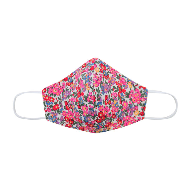 Busy Bees Adult Cotton Face Mask, Multi Floral (Prints) - Mommy & Me Collection Maisonette from Busy Bees