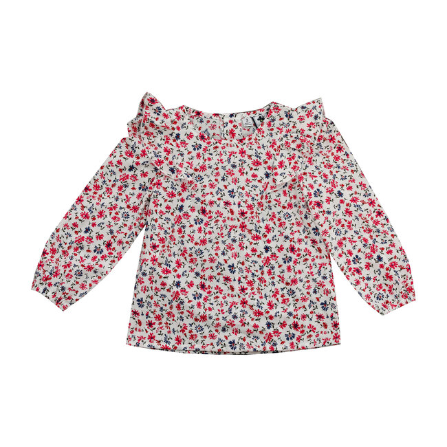Busy Bees Kate Shoulder Wing Top, Winter Floral (Prints, Size 12M) Maisonette from Busy Bees