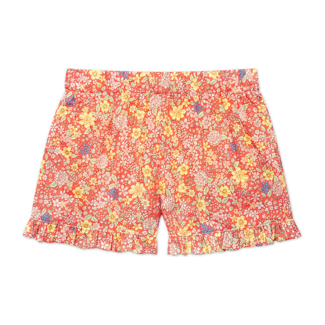 Busy Bees Lee Ruffle Shorts, Summer (Florals, Size 12Y) Maisonette from Busy Bees
