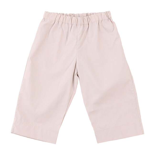Busy Bees Lucas Baby Pant, Khaki Cotton Poplin (Tan, Size 6M) Maisonette from Busy Bees