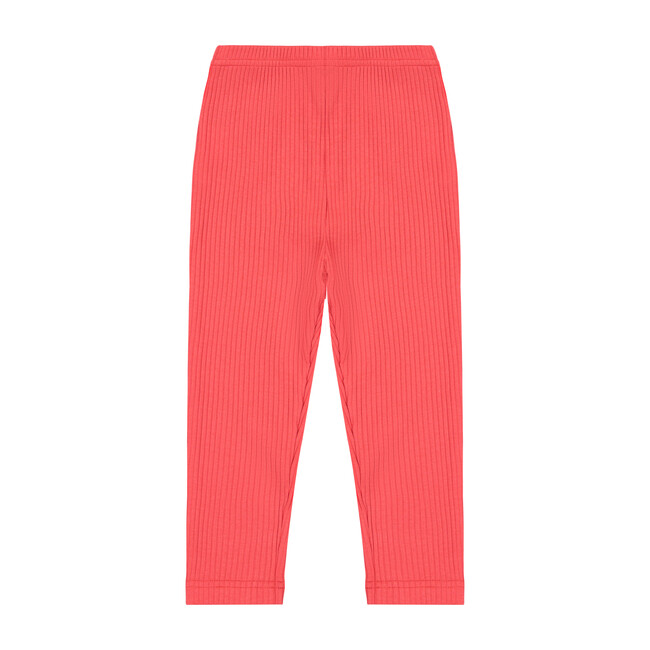 Busy Bees Ribbed Leggings, (Red, Size 2Y) Maisonette from Busy Bees