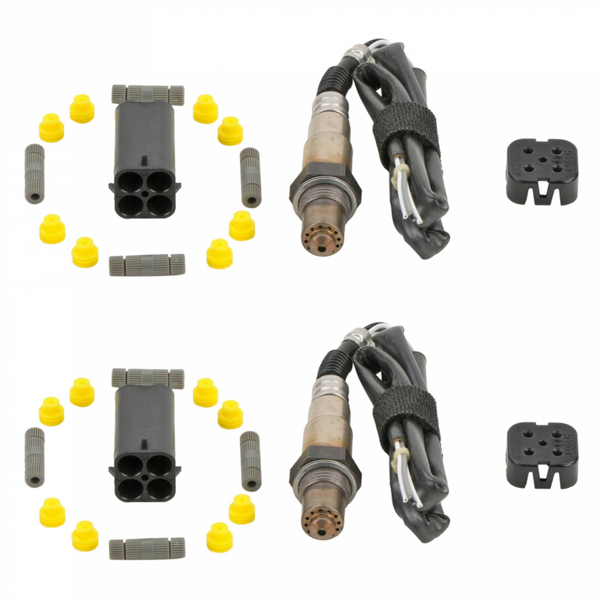 New 2003 Mercedes Benz E55 AMG Oxygen Sensor Kit Pair 5.5L Eng. - V8 Eng. - Upstream and Downstream Pair from BuyAutoParts