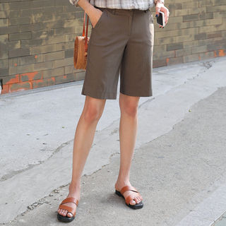 Flat-Front Shorts from CLICK