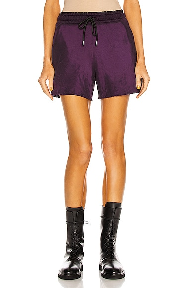 COTTON CITIZEN Brooklyn Short in Purple from COTTON CITIZEN
