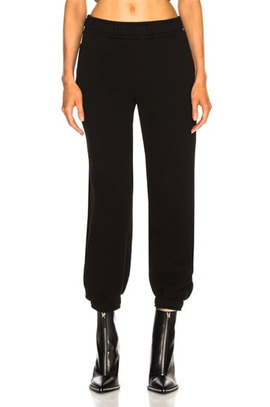 COTTON CITIZEN Brooklyn Sweatpant in Black from COTTON CITIZEN