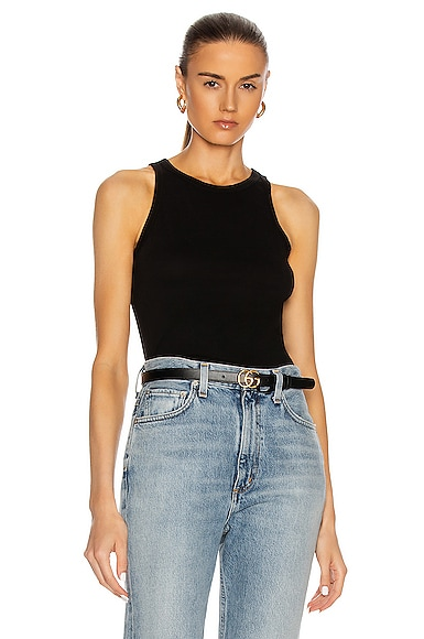 COTTON CITIZEN Standard Tank Top in Black from COTTON CITIZEN