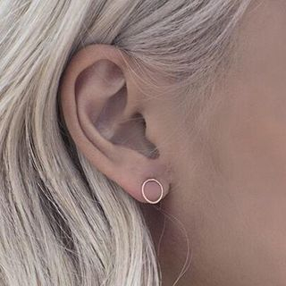 Circle Ear Studs from Calypso