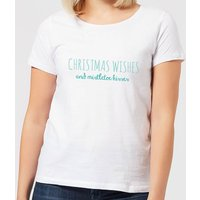 Christmas Wishes Women's T-Shirt - White - M - White from Candlelight