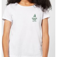 Santa stop Pocket Women's T-Shirt - White - L - White from Candlelight