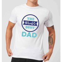 The World's Best Dad Men's T-Shirt - White - 4XL - White from Candlelight