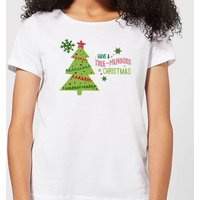 Tree Mendous Women's T-Shirt - White - XXL - White from Candlelight