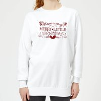 Very Merry Women's Sweatshirt - White - S - White from Candlelight
