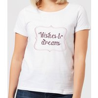 Wishes & Dreams Women's T-Shirt - White - S - White from Candlelight