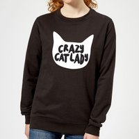 Crazy Cat Lady Women's Sweatshirt - Black - XL - Black from The Pet Collection