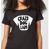 Crazy Dog Lady Women's T-Shirt - Black - XL - Black from The Pet Collection
