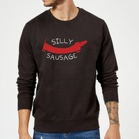 Silly Sausage Sweatshirt - Black - L - Black from The Pet Collection