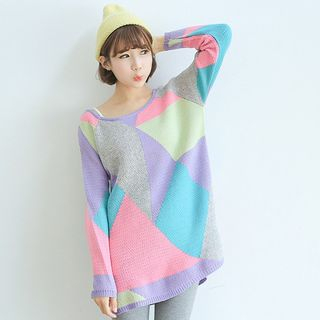 Color Block Sweater from Champi
