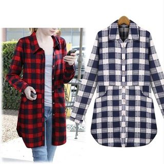 Plaid Long Shirt from Champi