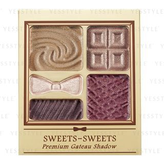 Chantilly - Sweets Sweets Premium Gateau Shadow 07 Cassis Brown 3g from Chantilly