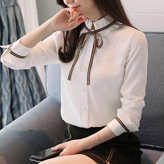 Bow Accent Blouse from Chata