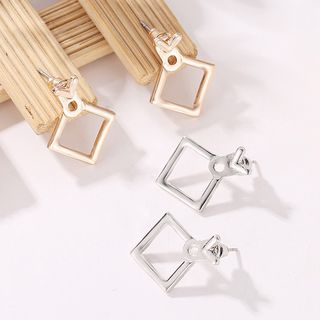 Alloy Square Earring from Cheermo