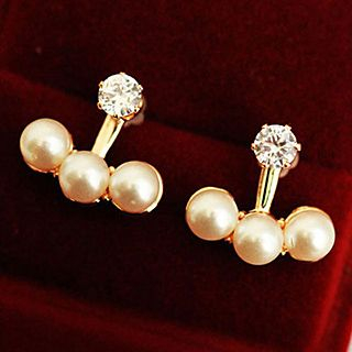 Faux Pearl Earrings from Cheermo