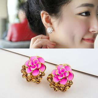 Floral Earrings from Cheermo