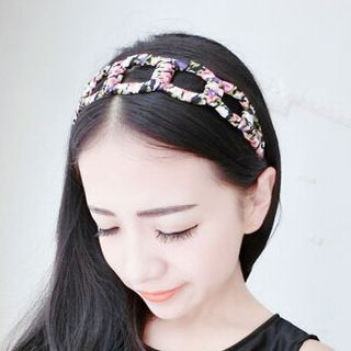Floral Hair Band from Cheermo