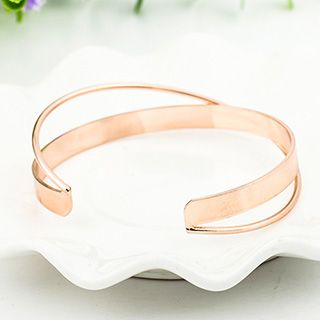 Layered Open Bangle from Cheermo