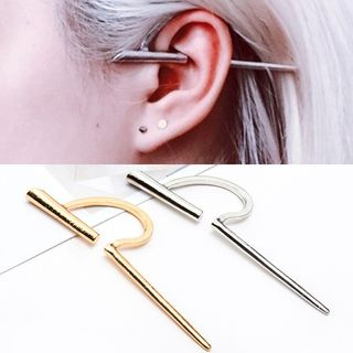 Metal Bar Ear Cuff from Cheermo