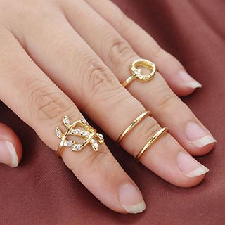Metal Ring Set from Cheermo