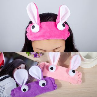 Rabbit Ear Fleece Hair Band from Cheermo