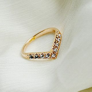 Rhinestone Ring from Cheermo