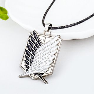 Shield Necklace from Cheermo
