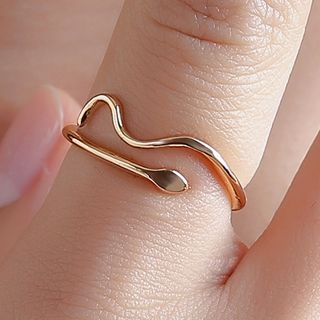 Snake Open Ring from Cheermo