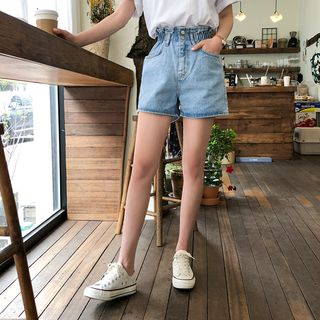 High-Waist Denim Shorts from Cherryville
