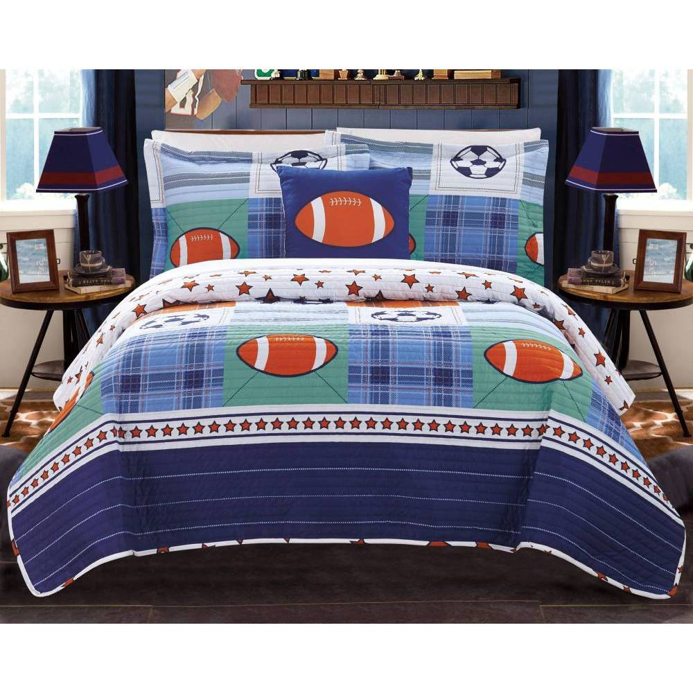 3pc Twin Kilroy Quilt Set Color - Chic Home Design from Chic Home Design