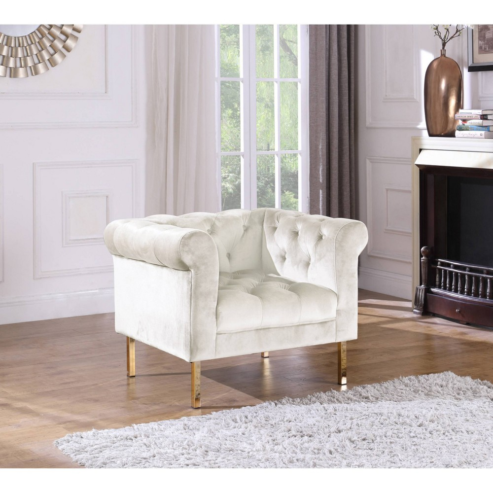 Julian Club Chair Beige - Chic Home Design from Chic Home Design