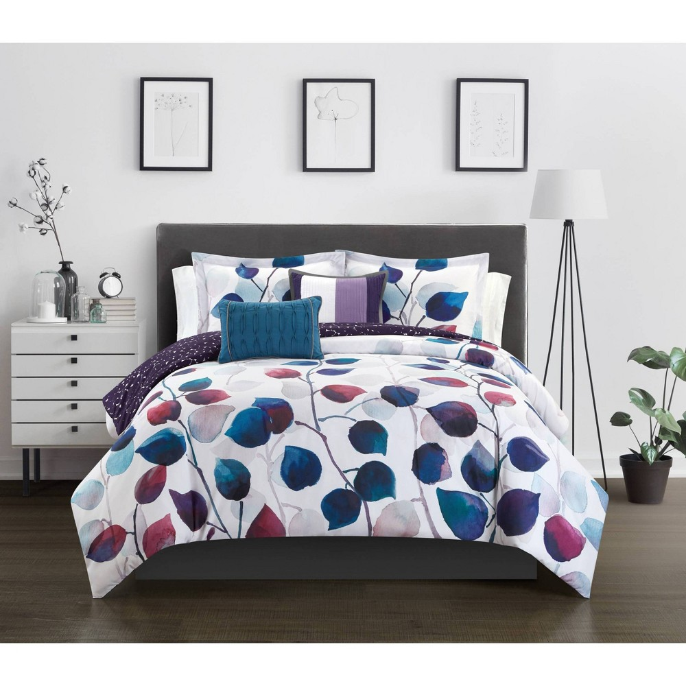 Queen 5pc Amélie Comforter Set Multi - Chic Home Design from Chic Home Design