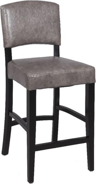 "Chintaly 0297-BS 30"" Stationary Solid Birch Bar Stool from Chintaly"