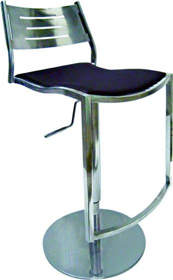 "Chintaly 0511-AS Pneumatic Gas Lift Adjustable Height Swivel Stool - 23"" - 32"" from Chintaly"