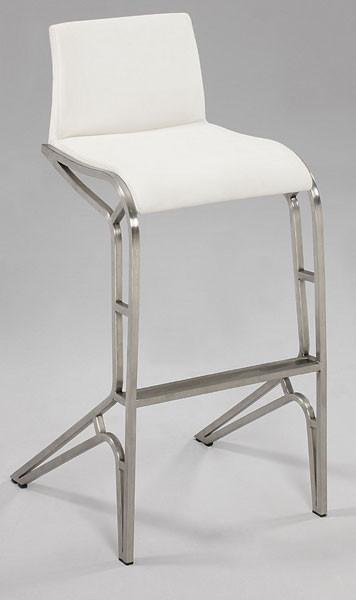 Chintaly 0569-BS Modern Feet Bar Stool from Chintaly