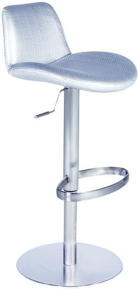 "Chintaly 0592-AS Pneumatic Gas Lift Adjustable Height Swivel Stool - 24"" - 33"" from Chintaly"