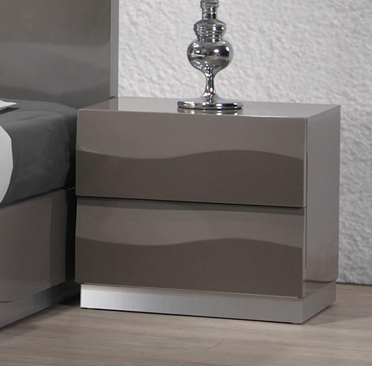 Chintaly DELHI-NS 2 Drawer Night Stand from Chintaly